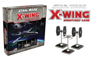 The X-wing Miniatures Game from Fantasy Flight Games