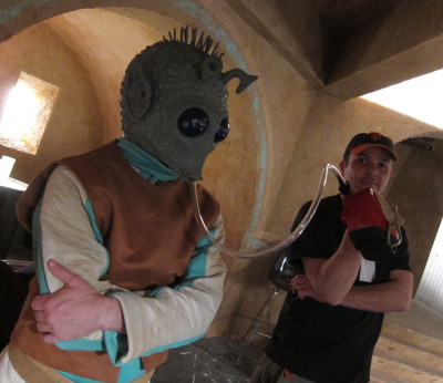 Greedo from YouTube's Star Wars Day cantina videos