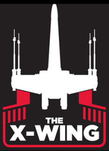 The X-Wing logo, inspired by Collectaholics