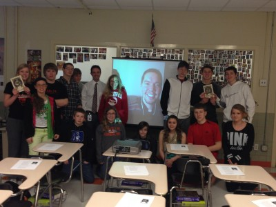 Mr. Zehr's Fifth Hour Freshmen English Class