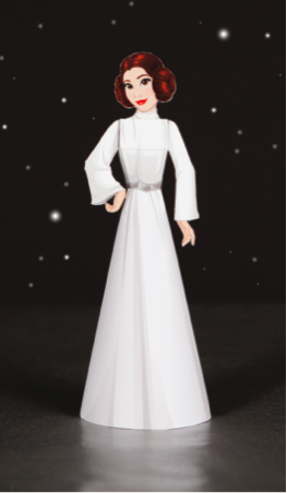 Princess Leia papercraft