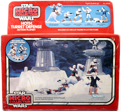 Kenner's Star Wars Micro Collection Hoth Turret Defense