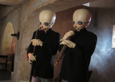 The Modal Nodes in YouTube's Star Wars Day cantina videos