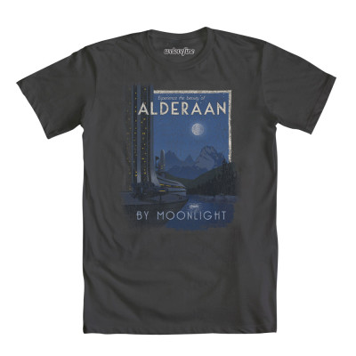 Star Wars Alderaan by Moonlight shirt