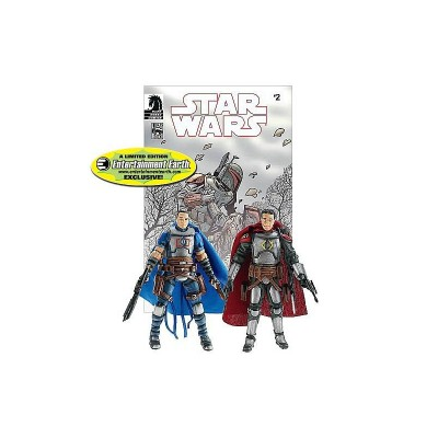 Entertainment Earth 2010 Comic Pack exclusive figures of Montross and Jaster Mereel