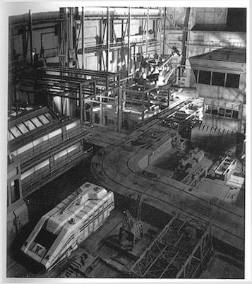 Star Tours during construction