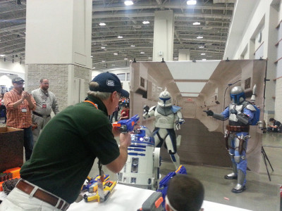 Blast-a-Stormtrooper at Awesome Con