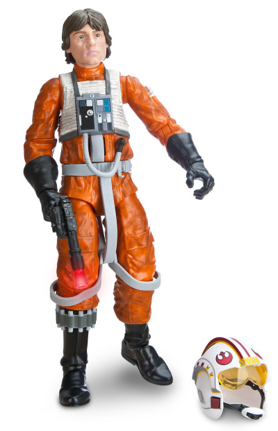 Luke X-wing pilot figure