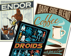 Star Wars Day ACME Archives prints