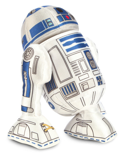 Telling a story: Plucky R2-D2 plush with revolving head