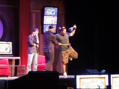 Ray Park and Jeremy Bullock at Star Wars Weekends 2013