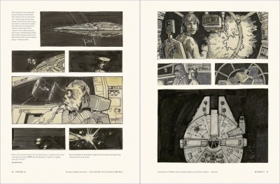 Star Wars Storyboards: The Original Trilogy interiors