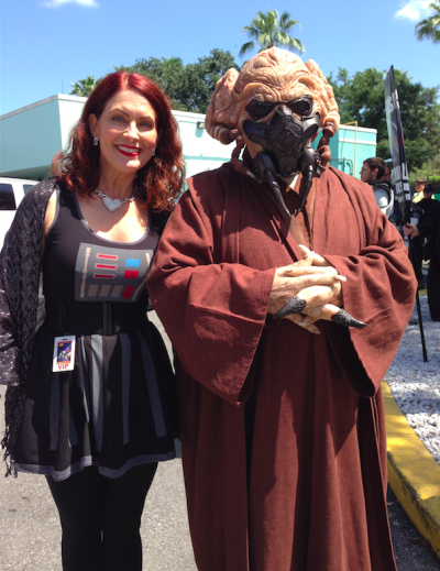 Also had the honor of meeting my favorite! Plo Koon!