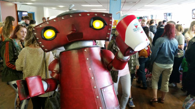 Bad Robot cosplay