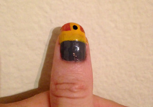 Chopper nail art 3