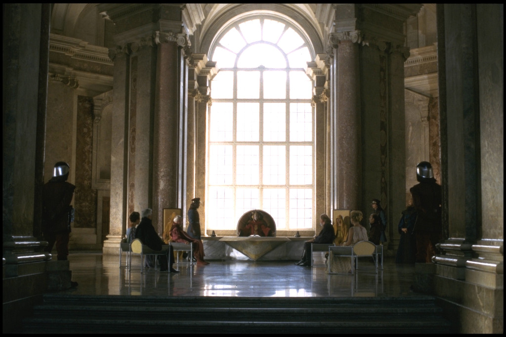 The Throne Room as seen in Attack of the Clones.