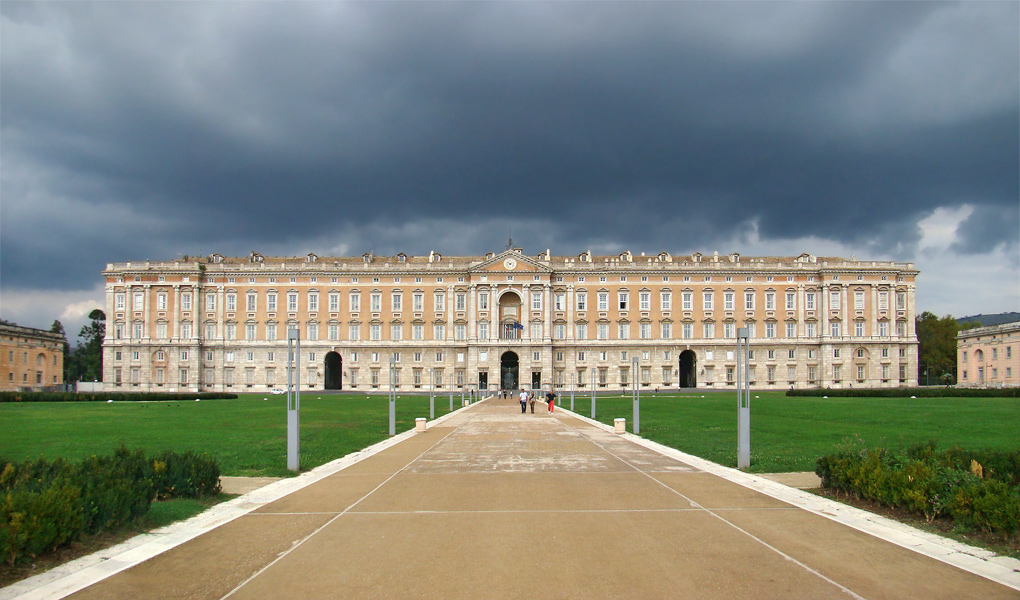 The Royal Palace in Caserta.