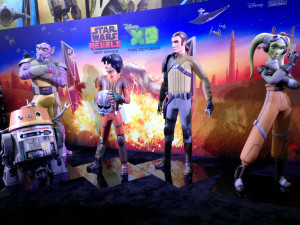 Star Wars at SDCC - Rebels statues