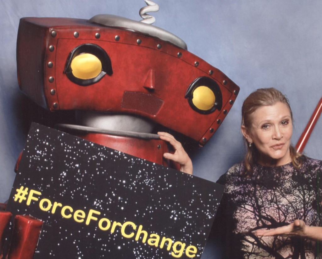 Bad Robot with Carrie Fisher