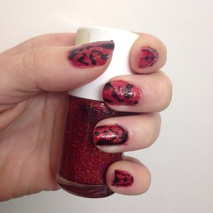 darth maul nail art