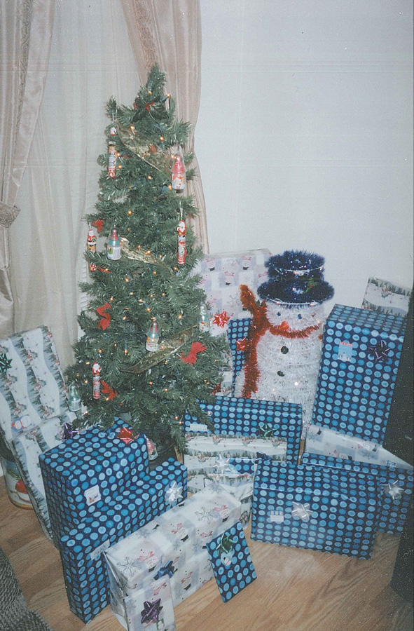 """Verd'ika Fund"" bringing hope to 3 children during the holidays in 2008."