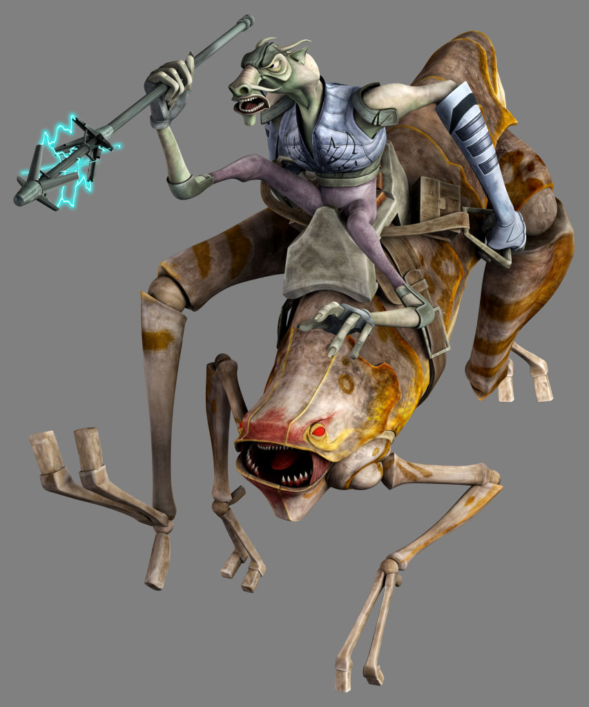 Insectomorph from Star Wars: The Clone Wars