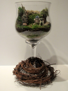 Dagobah Terrarium finished whole