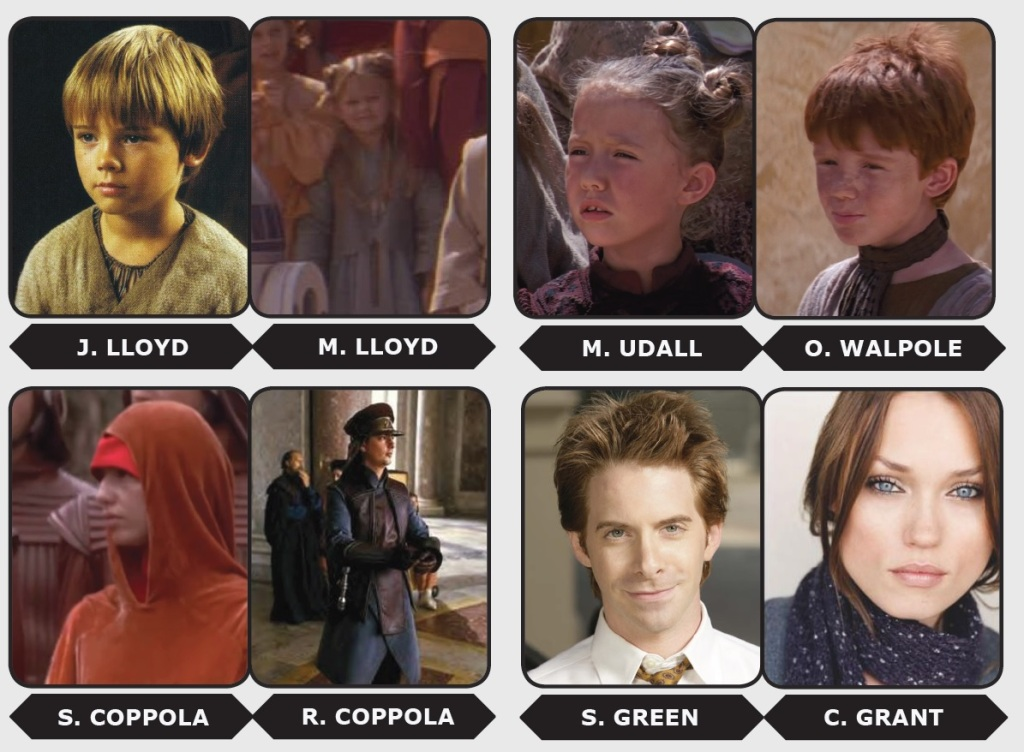 More Prequel connections.