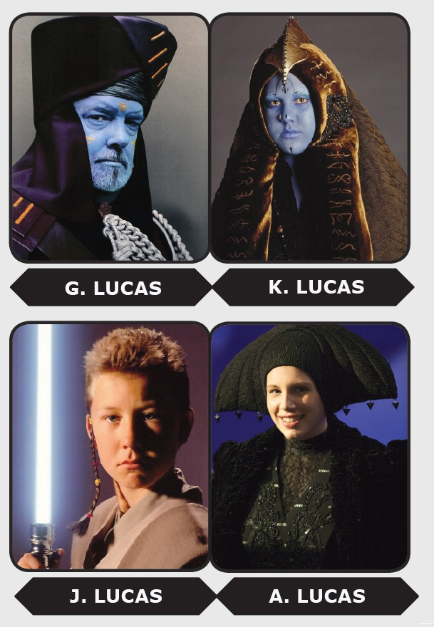 The Lucas family.