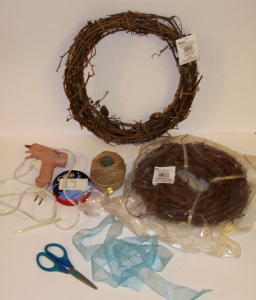 Life Day Wreath 2 Supplies