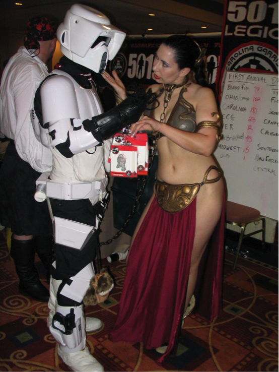 Another trooper falls prey to the Repo Team