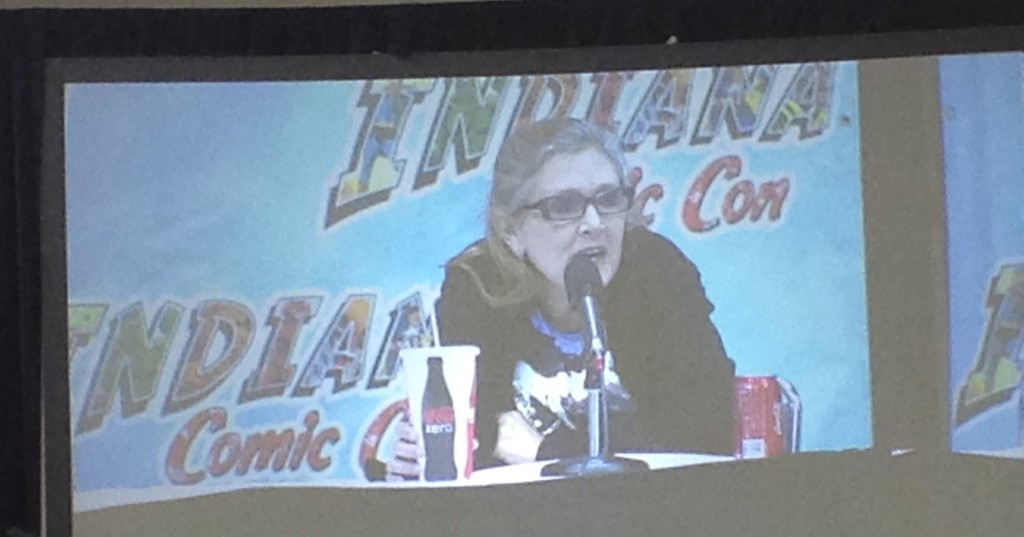 Carrie Fisher Panel