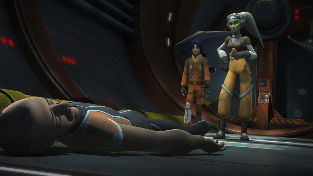 Hera knocks out Gall Trayvis