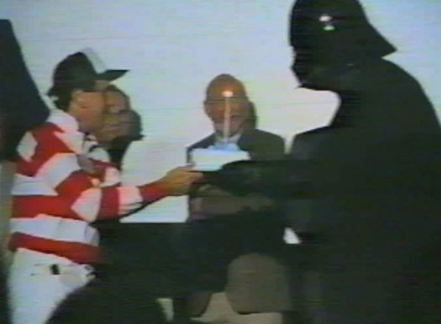 10. Vader with cake