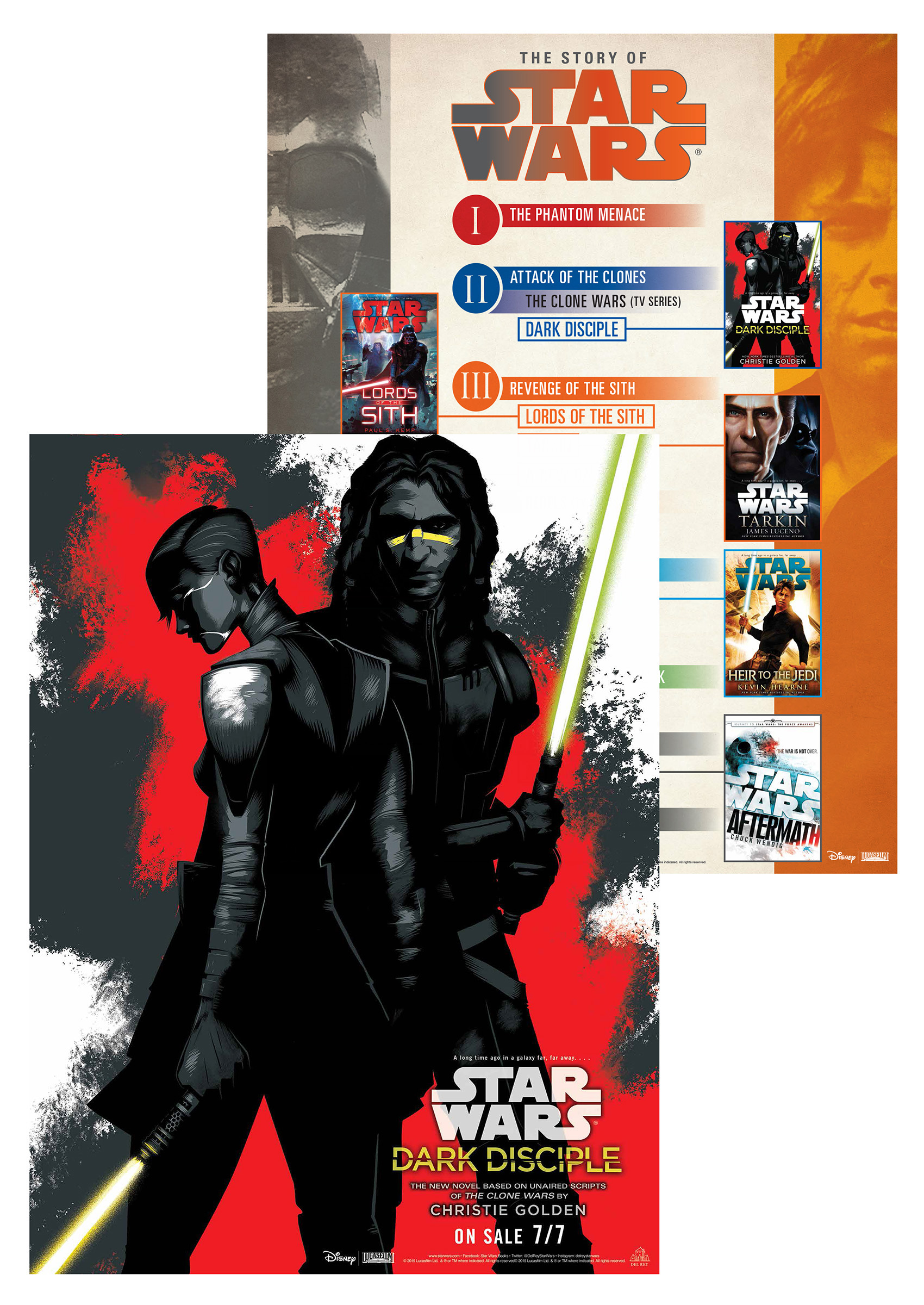 Star Wars: Dark Disciple poster