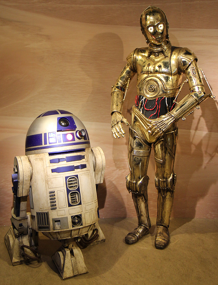 Madame Tussauds - R2-D2 and C-3PO