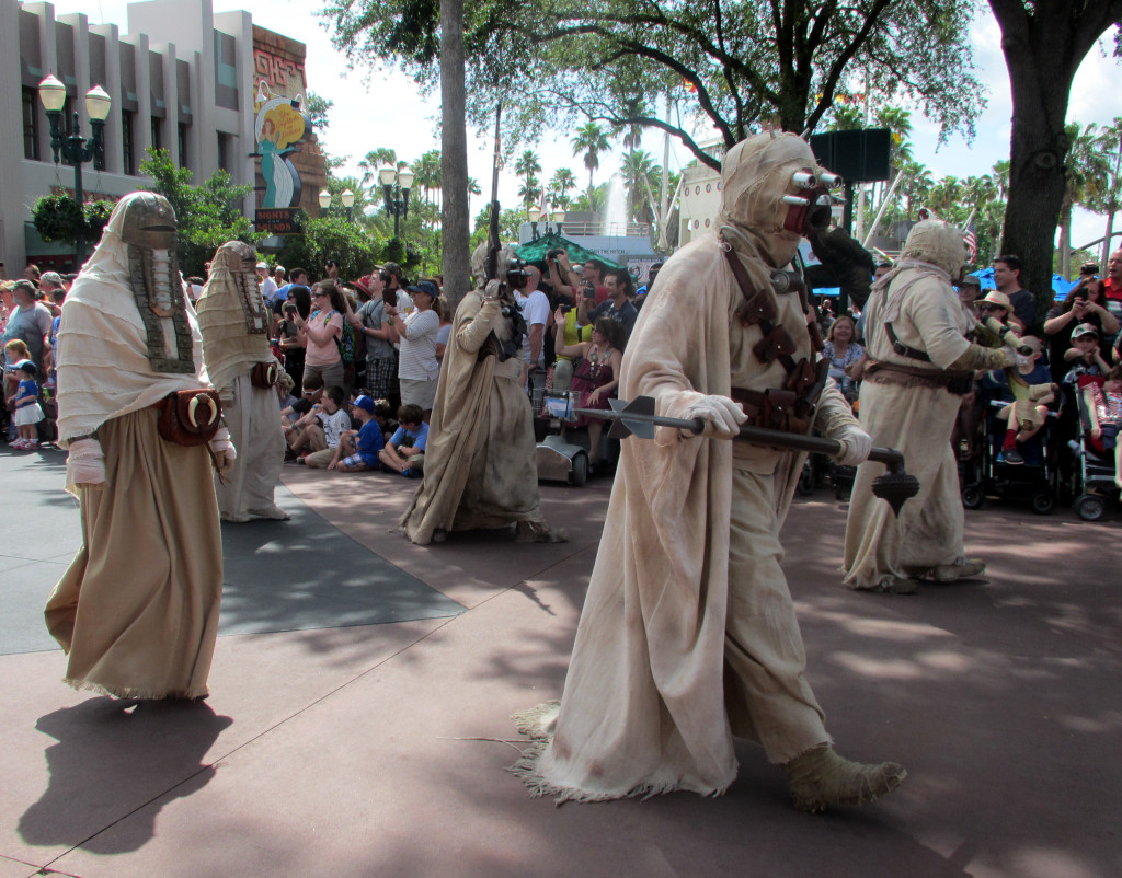 Legacy of the Force parade at Star Wars Weekends