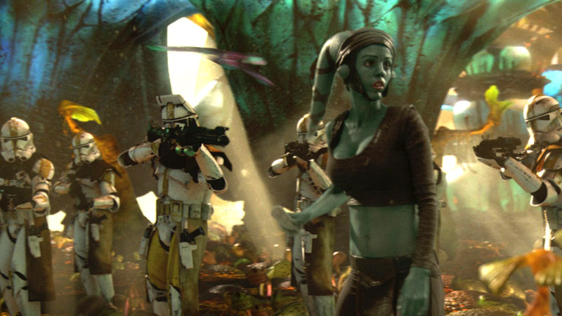 Revenge of the Sith - Aayla Secura