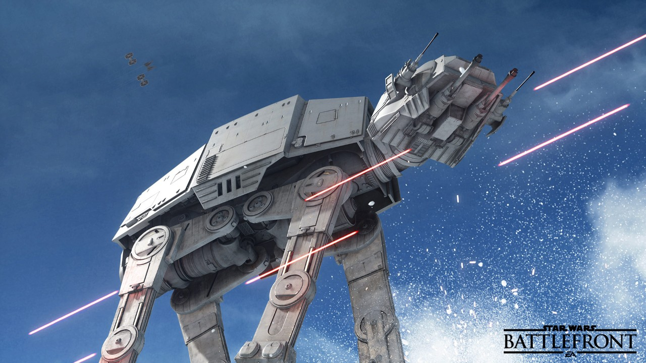 Star Wars Battlefront - AT-AT on Hoth