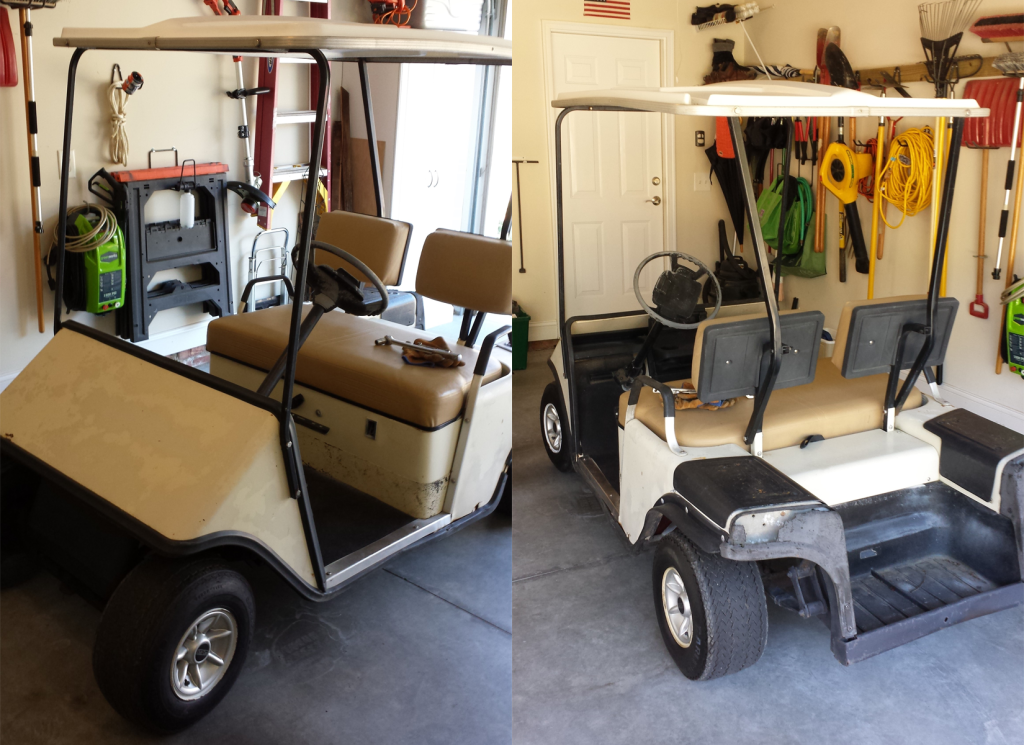 Star Wars speeder project - EZGO golf cart