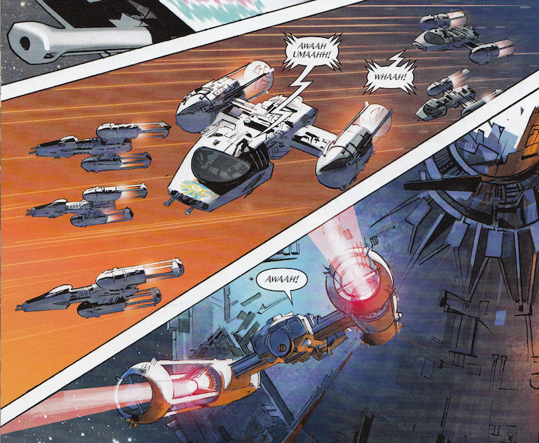 Wookiees take flight in The Star Wars #8