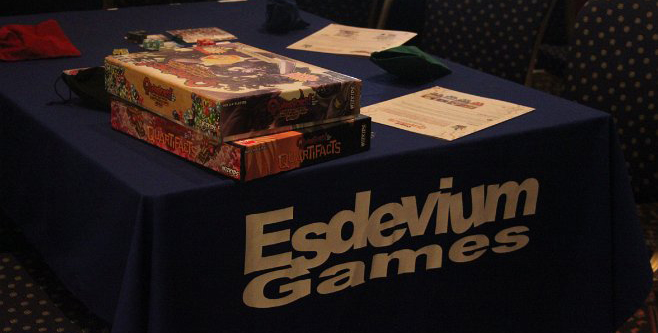 UK Games Expo - Esdevium Games booth
