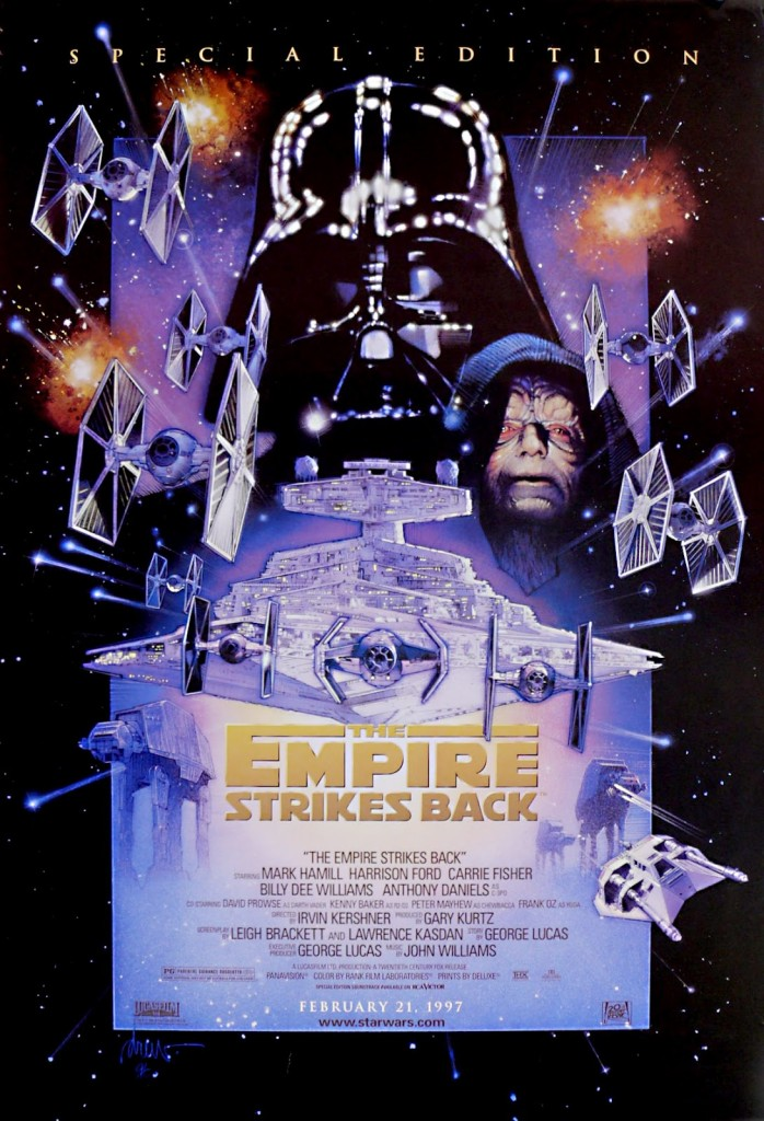 Star Wars: The Empire Strikes Back special edition poster