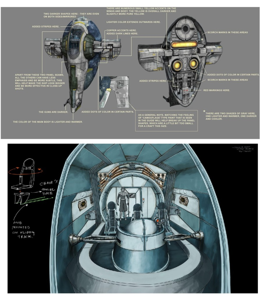 Detailed Slave I model image for The Clone Wars