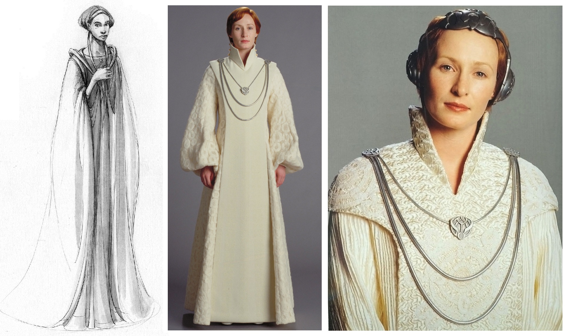 mon mothma rebel leader from concept to screen. Black Bedroom Furniture Sets. Home Design Ideas