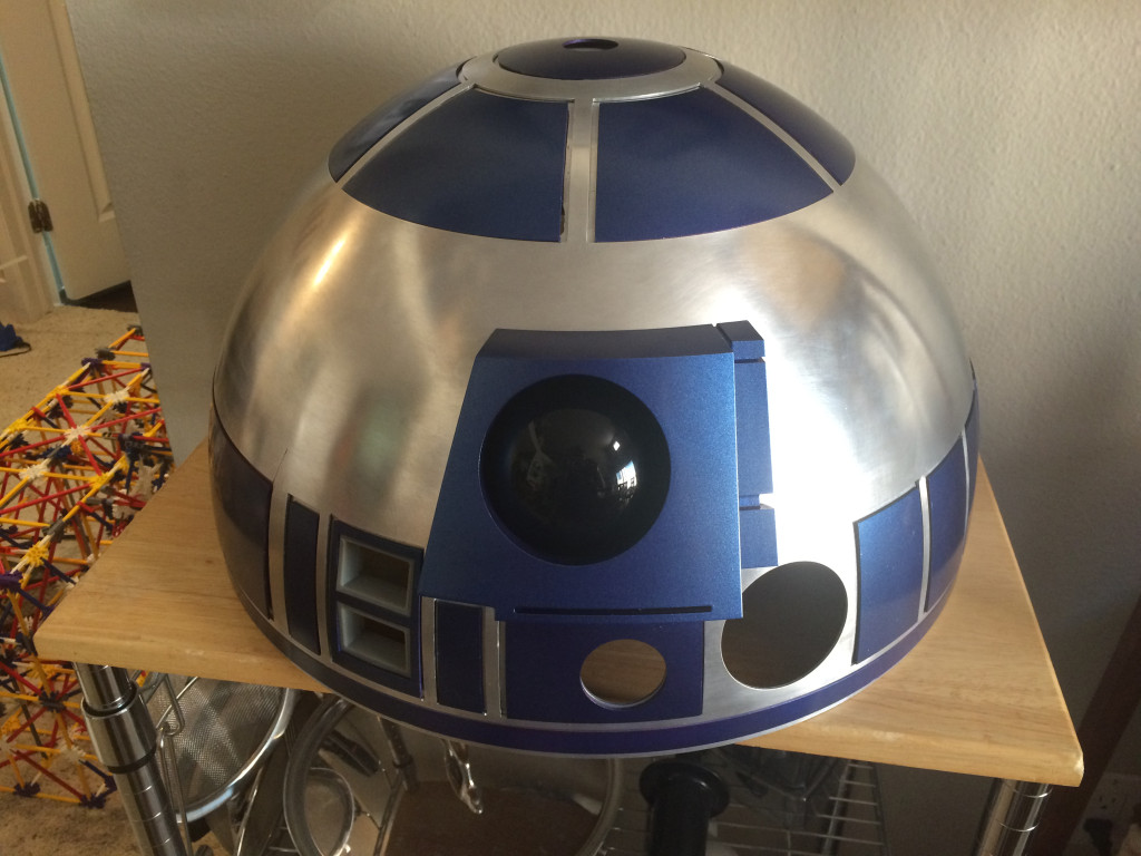 R2-D2 dome for the R2-D2 Builders Club