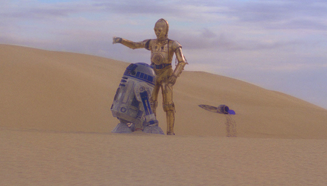 R2d2 And C3po In Movie 6 of the Best Friendsh...