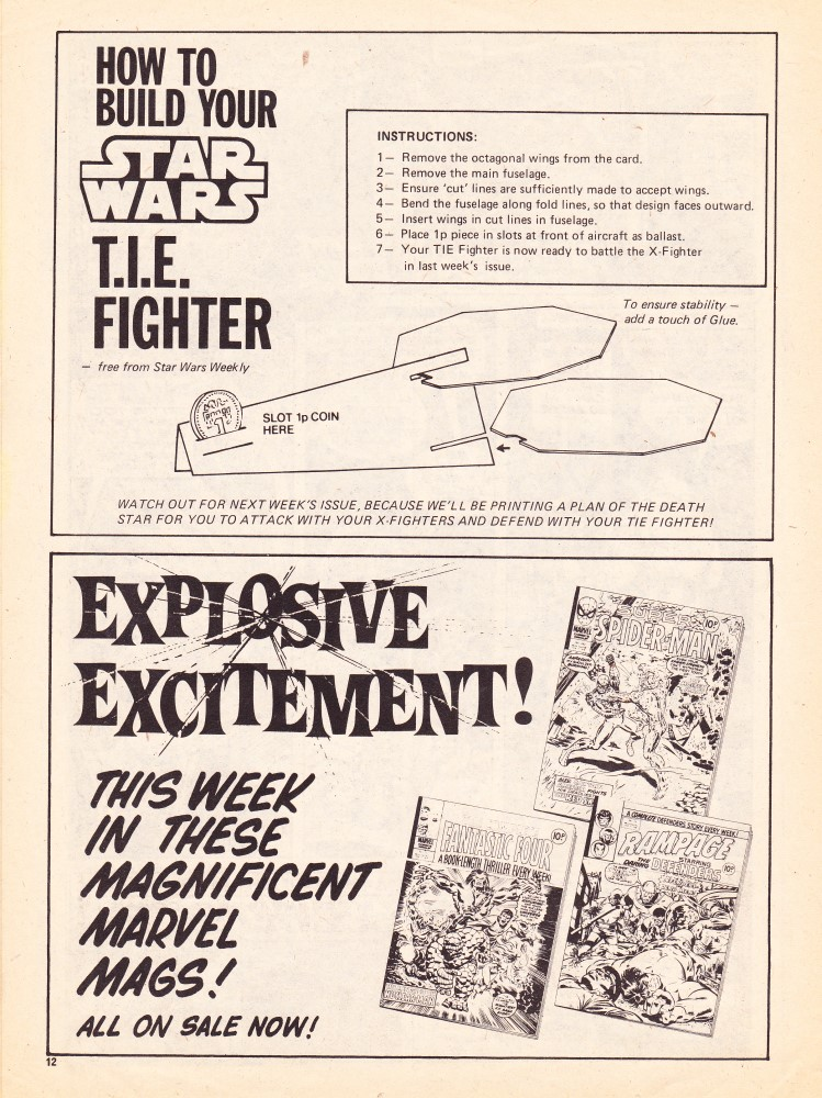 UK Star Wars Weekly - How to build a TIE fighter