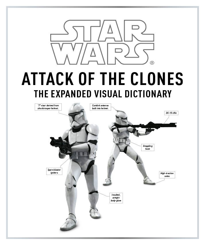 Star Wars Attack of the Clones: The Visual Dictionary