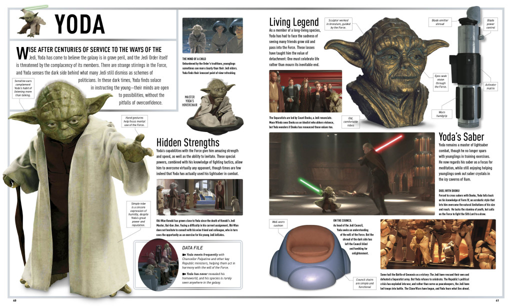 Star Wars Attack of the Clones: The Visual Dictionary - Yoda